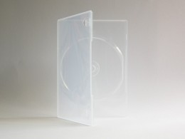 DVD Single Box Slimline transparent