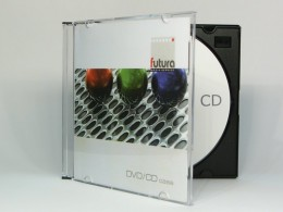 CD konfektioniert in Jewelbox Slimline